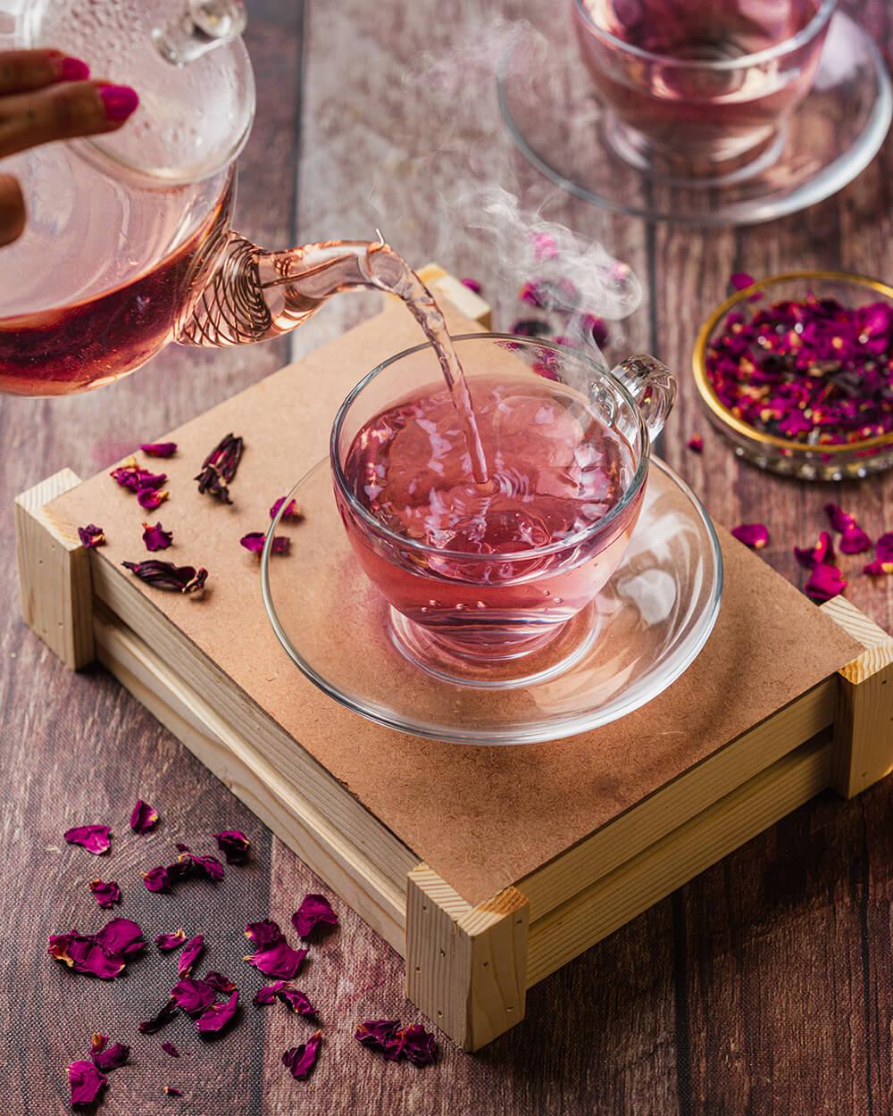 Rose Hibiscus Tea