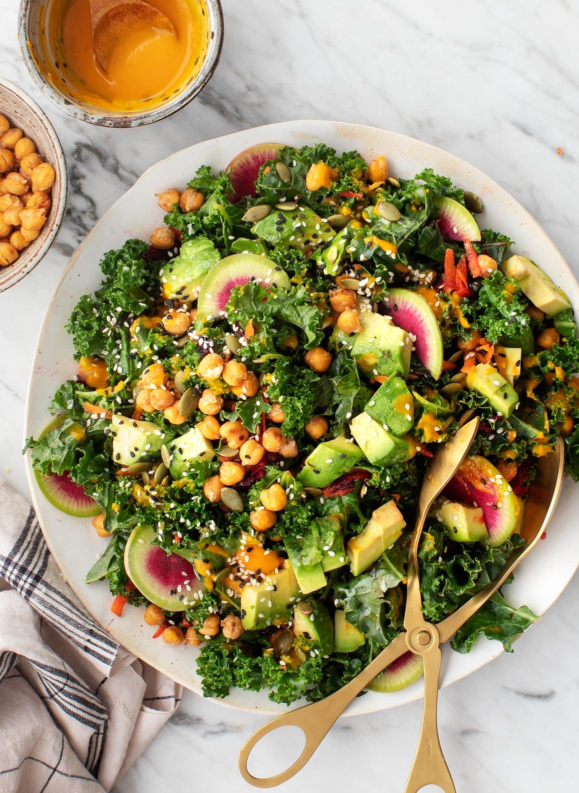 The Origin India Kele salad