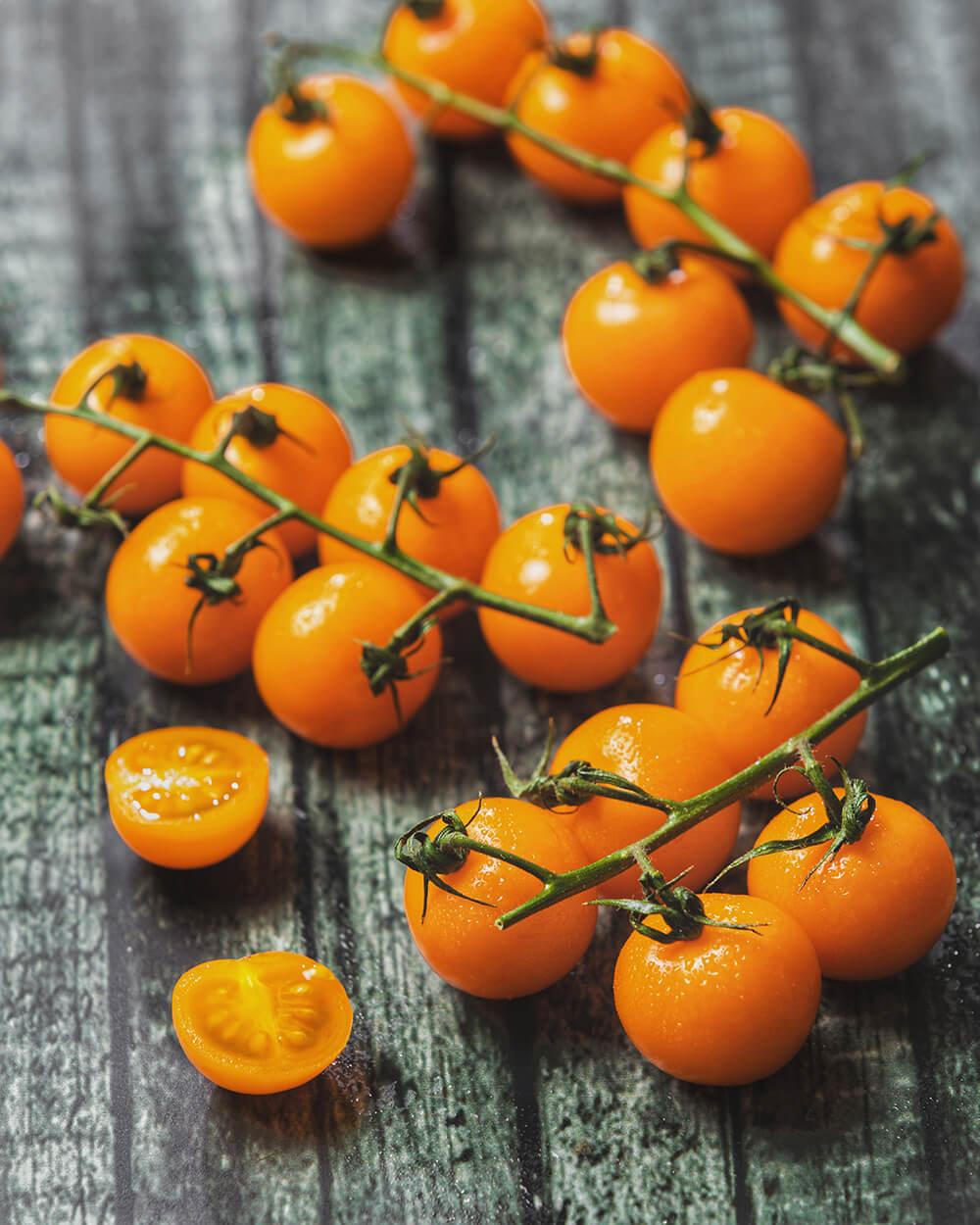 Golden Orange Tomatoes Netherlands
