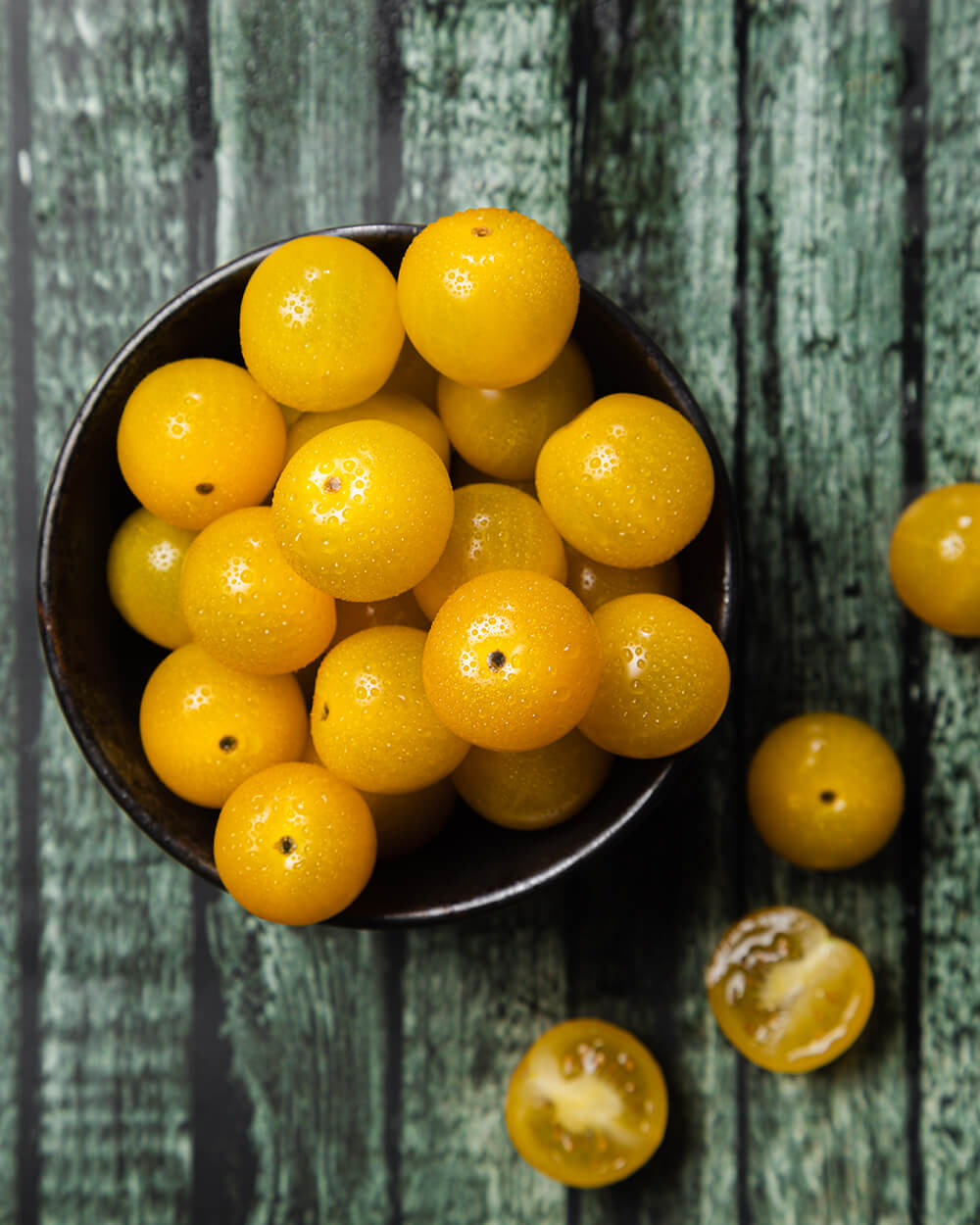 Yellow Cherry Pear Tomatoes Netherlands