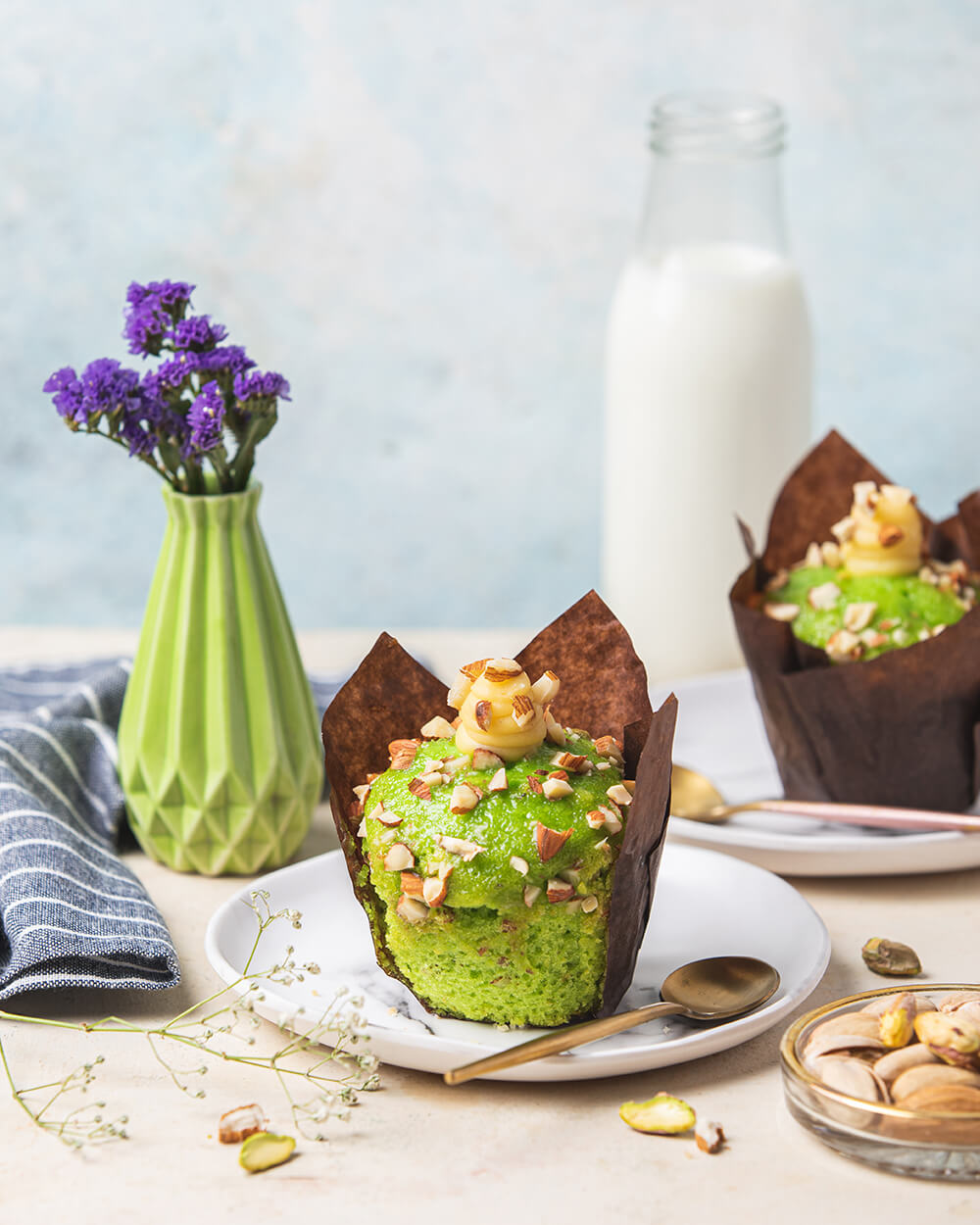 Pistachio Almond Muffin