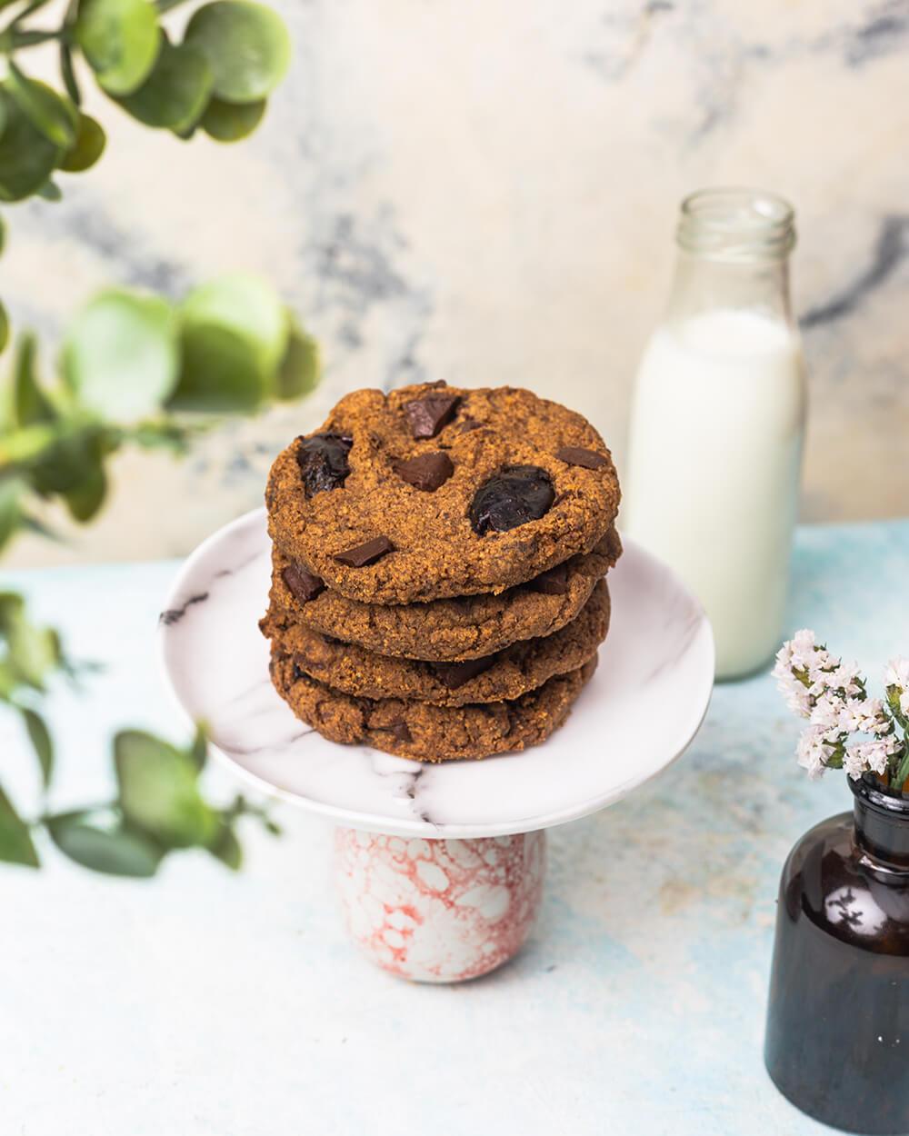 Ragi Dates Gluten-free Cookies